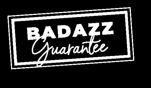 badazz guarantee sign
