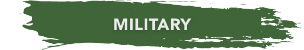 military banner green