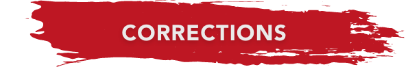 corrections banner red